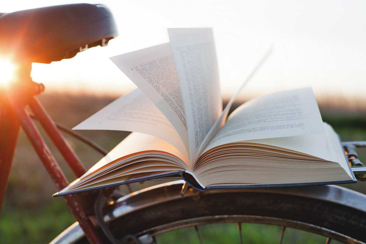 Sunrise Open Book Bike