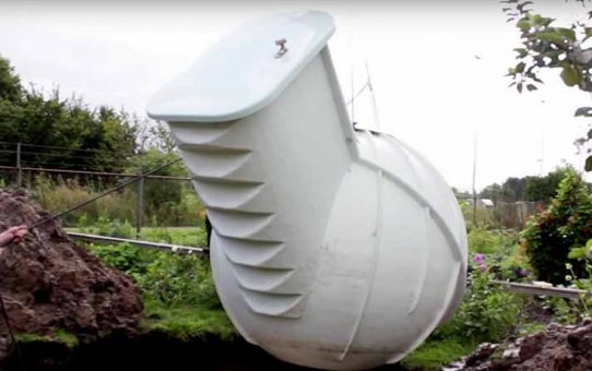 A Refrigerator that Uses Earth to Run