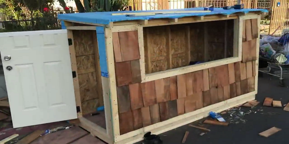 Tiny Houses Used to Be a Safe Place to Sleep for The Homeless but Now Los Angeles Is Taking Them Away