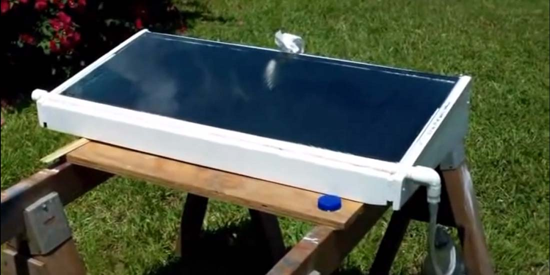 A Small Homemade Solar Still